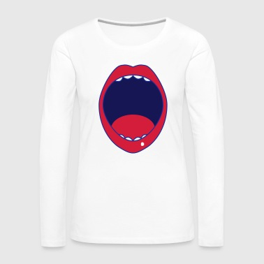 mouth - Women's Premium Longsleeve Shirt