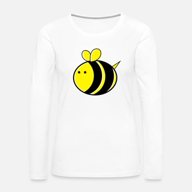 Bumble Bee super big cute bumble bee - Women's Premium Longsleeve Shirt