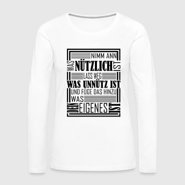Learning Developing Motivation Wisdom Determined - Women's Premium Longsleeve Shirt
