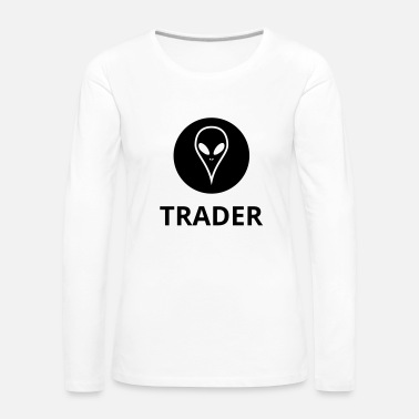 Tradition Alien Trader - T-shirt manches longues Premium Femme