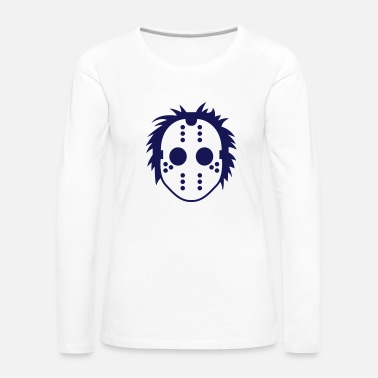 Serial Killer Mask of a serial killer - Women's Premium Longsleeve Shirt