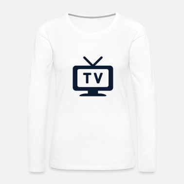 Television Television tv - Women's Premium Longsleeve Shirt