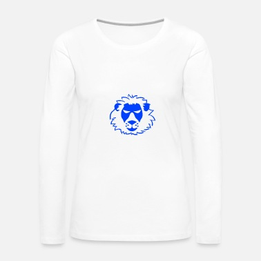 Animal Rights Lion Animal Rights Defender - Vrouwen Premium shirt met lange mouwen