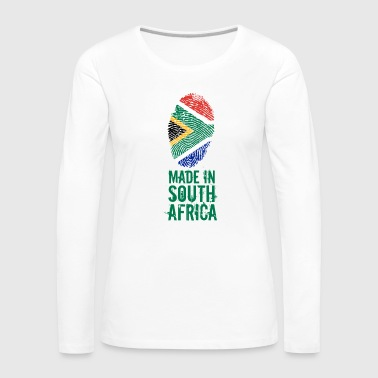 Made In South Africa / South Africa - Women's Premium Longsleeve Shirt