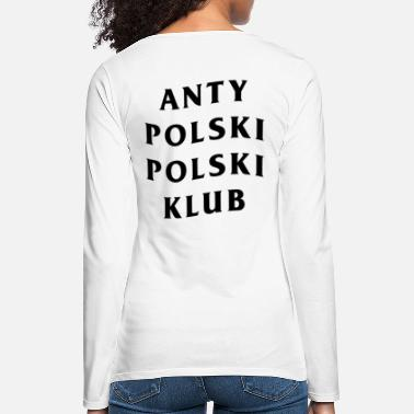 The &amp APPK WHITE & BLACK - Women's Premium Longsleeve Shirt