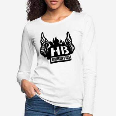 Henderson's Boys - Tee shirt manches longues Premi - T-shirt manches longues premium Femme