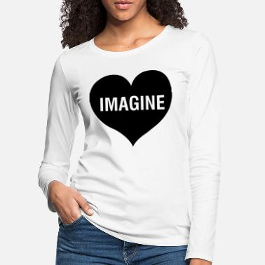 Bloggeur IMAGINE - T-shirt manches longues premium Femme