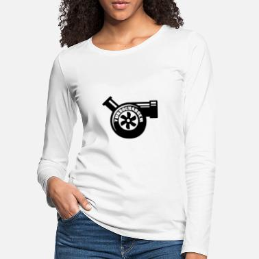 Turbocompresor turbocompresor - Camiseta de manga larga premium mujer