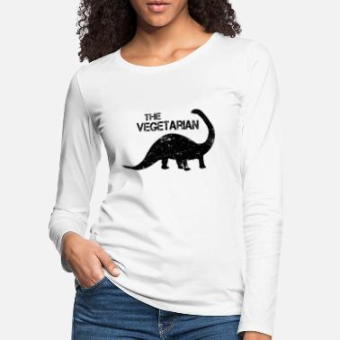 Vegetarian The vegetarian - Women's Premium Longsleeve Shirt