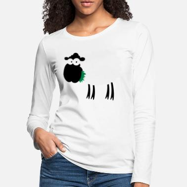 Sheep color - Women's Premium Longsleeve Shirt