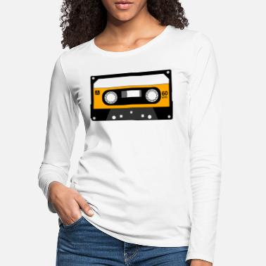 Old School Hip Hop Cassette Tape 14 - Women's Premium Longsleeve Shirt