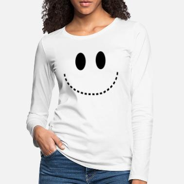 Smiley Smiley - Women's Premium Longsleeve Shirt