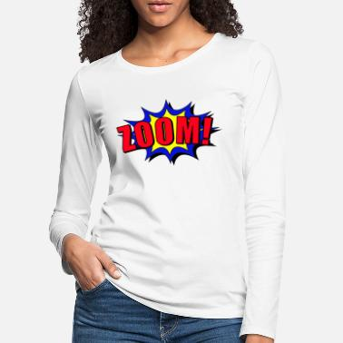 Baem Zoom cartoon speech bubble - Women's Premium Longsleeve Shirt