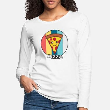 Hawaii Pizza vintage fast food food gift idea - Women's Premium Longsleeve Shirt