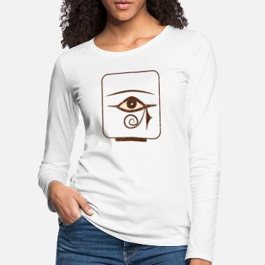 Ancient Egypt Ancient Egypt T Shirt Ankh Kemet Ra Egyptian - Women's Premium Longsleeve Shirt