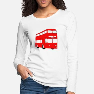 Public Transportation school bus coach omnibus school bus verkehr2 - Women's Premium Longsleeve Shirt