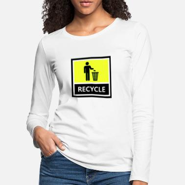 Recycling Recycle - Women's Premium Longsleeve Shirt