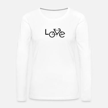 Hobby Bicycle cyclist Hobby passion - Women's Premium Longsleeve Shirt