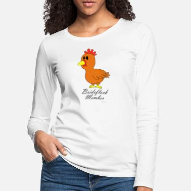 Hen Night Hen night / hen night - Brideflock Member - Women's Premium Longsleeve Shirt