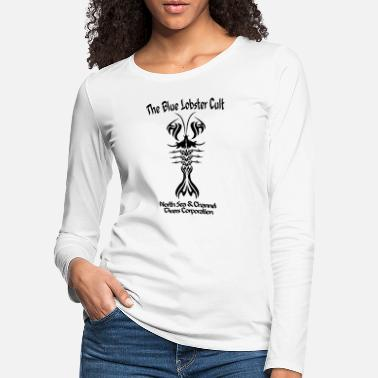 The Blue Lobster Cult - T-shirt manches longues premium Femme