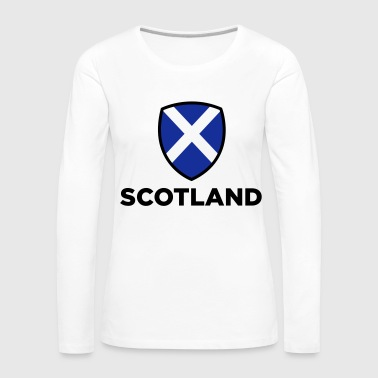 National Flag of Scotland - Women's Premium Longsleeve Shirt