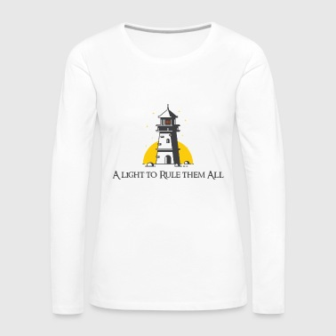 A light to rule them all - Women's Premium Longsleeve Shirt