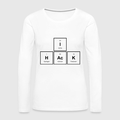 in Hack - Frauen Premium Langarmshirt
