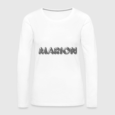 Marion name first name name day - Women's Premium Longsleeve Shirt