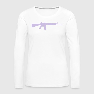Machine Gun - Women's Premium Longsleeve Shirt