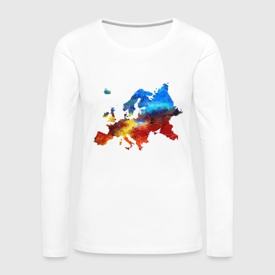 Europe - Women's Premium Longsleeve Shirt