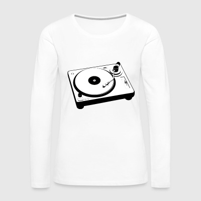 turntable - Women's Premium Longsleeve Shirt