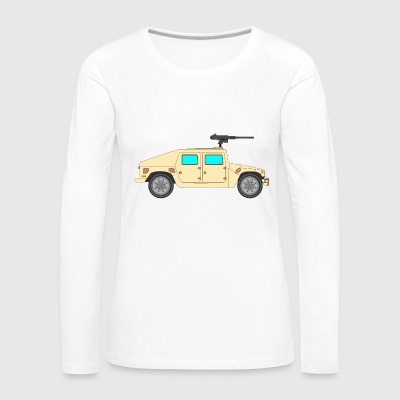 Military vehicle - Women's Premium Longsleeve Shirt