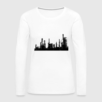 Oil refinery - Women's Premium Longsleeve Shirt