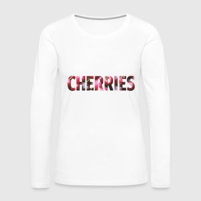 Cherries - Women's Premium Longsleeve Shirt