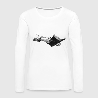 Reading - Women's Premium Longsleeve Shirt