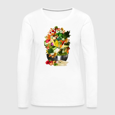 VEGAN COLLECTION - Frauen Premium Langarmshirt