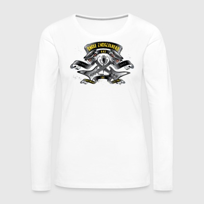 Screaming pistons - Women's Premium Longsleeve Shirt
