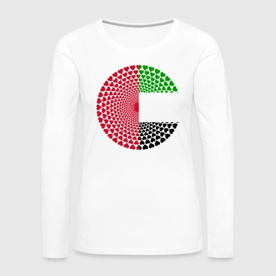 United Arab Emirates UAE United Arab Emirates Mandala - Women's Premium Longsleeve Shirt