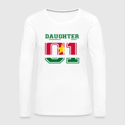 Daughter daughter queen 01 Suriname - Women's Premium Longsleeve Shirt