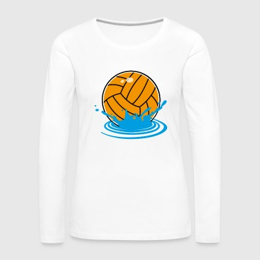 water polo - T-shirt manches longues Premium Femme