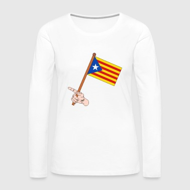 Catalonia flag - Women's Premium Longsleeve Shirt