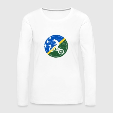 Bike bmx love biking Solomon Islands - Women's Premium Longsleeve Shirt