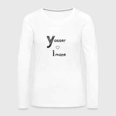 Yasser and Imane - Women's Premium Longsleeve Shirt