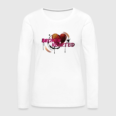 Broken heart design - Women's Premium Longsleeve Shirt