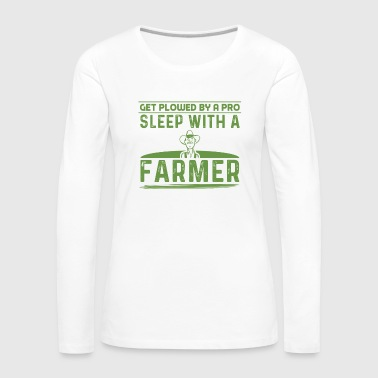 Farmer farmer saying, funny farmer poison - Women's Premium Longsleeve Shirt