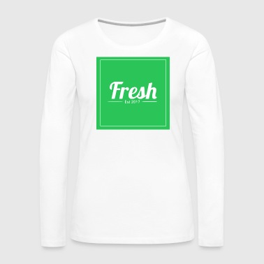 Green square - Women's Premium Longsleeve Shirt