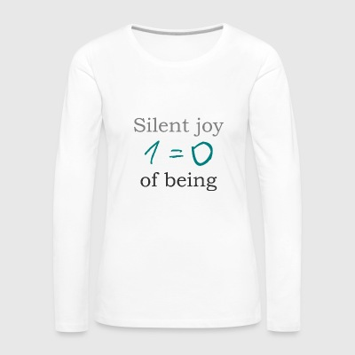 Silent joy of being 105 - Women's Premium Longsleeve Shirt