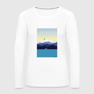 Save Nature - Women's Premium Longsleeve Shirt