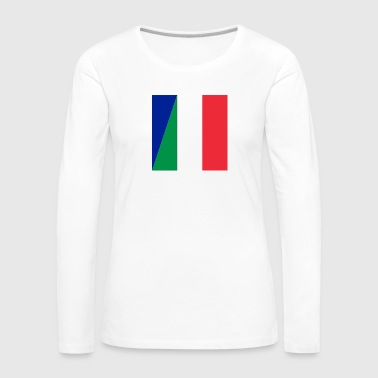 Double nationality - Women's Premium Longsleeve Shirt