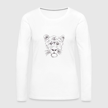 lion's head - Women's Premium Longsleeve Shirt